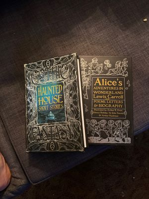 Haunted story book and Alice in wonderland stories ! for Sale in Mesa, AZ