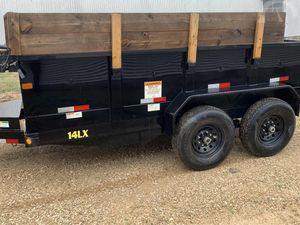 Dump Big Tex Trailer2O17 Price$1200 for Sale in Bloomington, IL