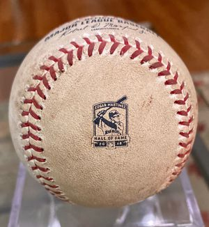 Tampa Bay Rays at Seattle Mariners Game Used Baseball. Edgar HOF Logo 8-10-19 for Sale in Seattle, WA