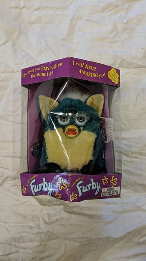 1999 Vintage Teal & Yellow Furby for Sale in Chico, CA