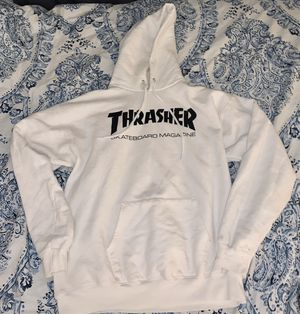 White thrasher hoodie for Sale in Ontario, CA