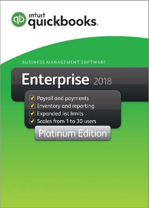 Quickbooks 18 Pro And Enterprise Disk or USB for Sale in Glendale, AZ