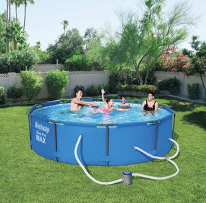 Bestway 10' x 30'' steel pro max frame pool for Sale in Ithaca, NY