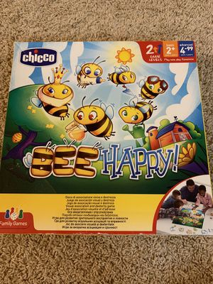 Board game CHICCO 'Bee happy!' Even small ones can play!! for Sale in Fresno, CA