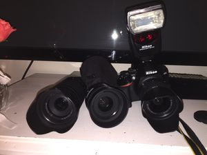 Nikon d3500 for Sale in Tampa, FL