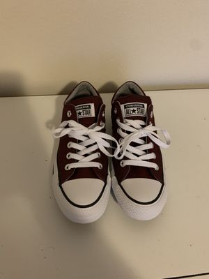Brand New Burgundy / Maroon Converse 7 for Sale in BETHEL, WA