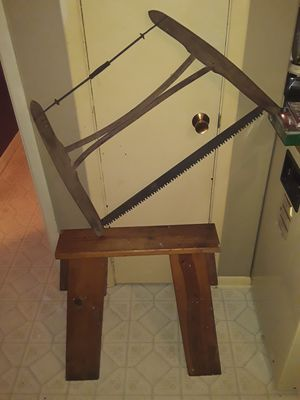 Antique wooden bow saw for Sale in Wichita, KS
