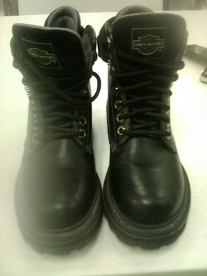 Harley Davidson leather boots stock no.84260 for Sale in Las Vegas, NV