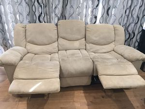 Recliner sofa set 3 seat and 2 seat for Sale in San Jose, CA