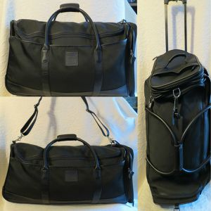 Greece Coach Rolling Duffle Bag for Sale in Anaheim, CA