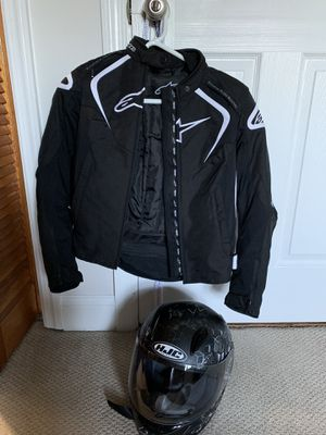 For motorcycle jacket and helmet for Sale in Silver Spring, MD