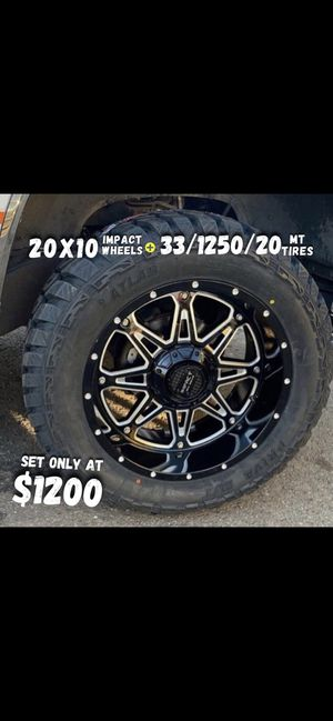 wheels and tires all 4 MONKEY WHEELS AND TIRES 4121 W Indian School Rd Phoenix, Az 85019 *480== 307==2141 for Sale in Phoenix, AZ