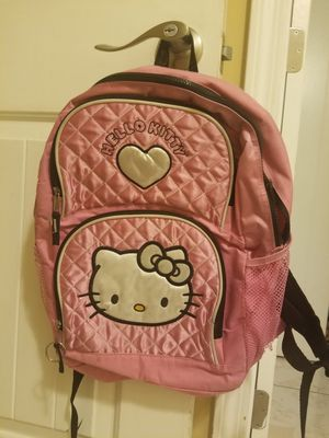 Hello kitty back pack for Sale in San Fernando, CA