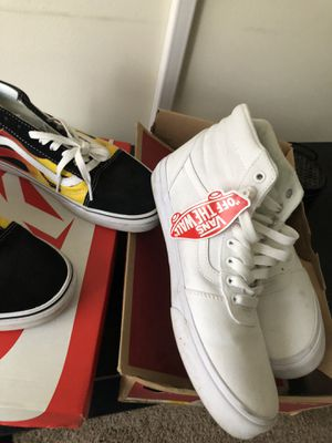 10.5 vans both worn for Sale in Cleveland, OH