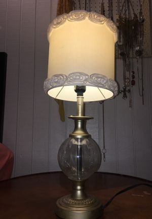 Unique lamp.. perfect for a lil girls room for Sale in Salt Lake City, UT