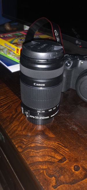 Canon EF-S 55-250mm f/4-5.6 IS STM Lens for Sale in Wylie, TX
