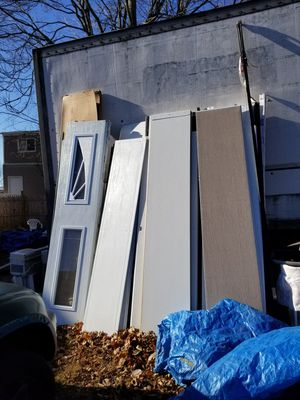 Brand new garage door panels have at least 30 $100 each for Sale in Brockton, MA