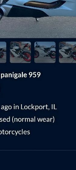Ducati Pangale 959 Scam for Sale in Chicago,  IL