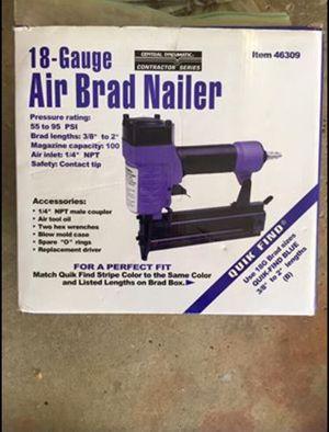 18-Gauge Air Brad Nailer - Nail Gun for Sale in Northfield, OH