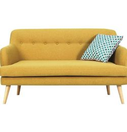 2 Seater Fabric Sofa With Free Shipping for Sale in Brooklyn,  NY