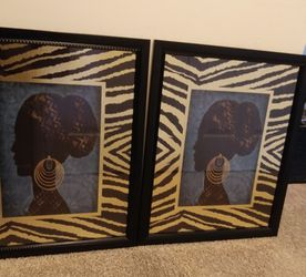 Black Art Wall Decor for Sale in Raleigh,  NC