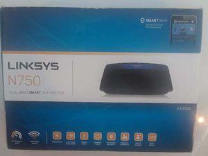 Linksys- N750 EA3500 Router for Sale in St. Petersburg, FL