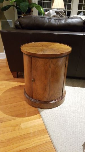Rosewood end table/cabinet for Sale in Sandy Spring, MD