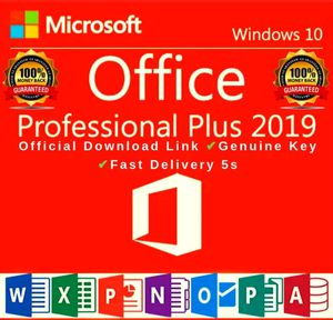 🔥Microsoft Office 2019 Professional Plus Official Key Code Fast delivery ✔️ for Sale in New York, NY