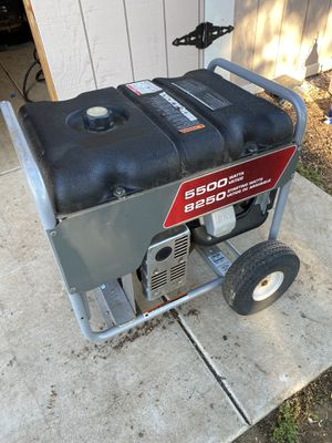Briggs and Stratton 5500 watt generator for Sale in Ramona, CA