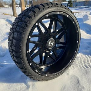 24x12 Hostile Sprocket 8x170 & 33x12.50R24 R/T Brand New for Sale in South Elgin, IL