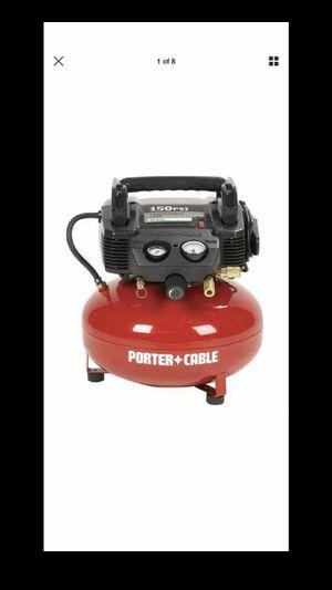 Porter cable air compressor for Sale in Phoenix, AZ