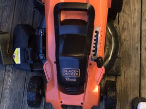 Black and Decker Lawn Mower for Sale in Lorton, VA