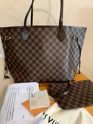 Louis Vuitton Neverful mm Damier Ebene for Sale in Orlando, FL