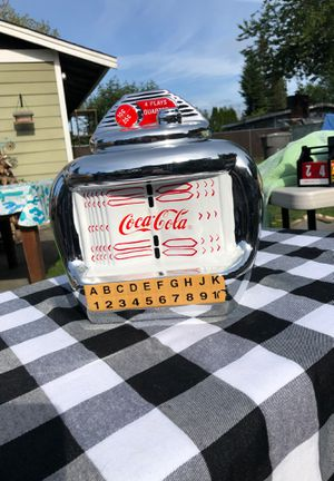 COCA-COLA Vintage Jukebox Cookie Jar for Sale in Auburn, WA