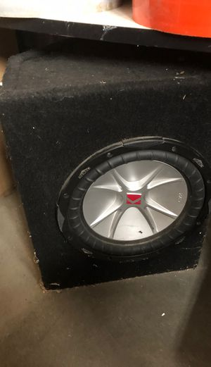 Audio speaker for Sale in Morgan Hill, CA