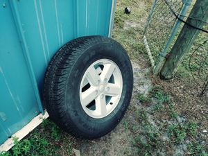 New Goodyear Wrangler 245 75 16 on Jeep 5 lug wheel for Sale in Okeechobee, FL