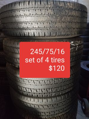 Tires for sale great price located in riversideCall me for appointment 951 32*96085 for Sale in Riverside, CA