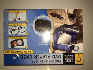 Portable/In Car DVD player Case for Sale in Irving, TX