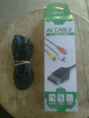 Original XBOX Console - RCA Component Cables & Power Cable / Brand New for Sale in Buena Park, CA