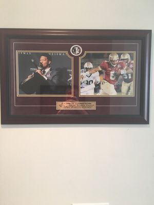 Florida State Jameis Winston Framed Picture 2013 Heisman Trophy edition for Sale in Orlando, FL