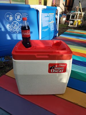 Vintage Super Oscar Coleman cooler 6 gal for Sale in Portland, OR