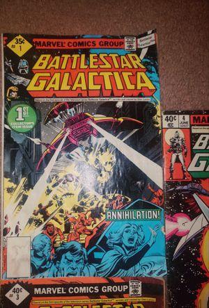 Battlestar Galactica #1, #3 & #4 for Sale in East Wenatchee, WA