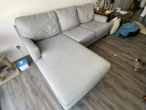 Grey Sectional Couch for Sale in Glendale, CA