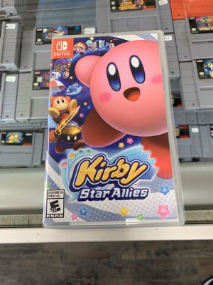 Kirby star allies $45 Gamehogs 11am-7pm for Sale in East Los Angeles, CA