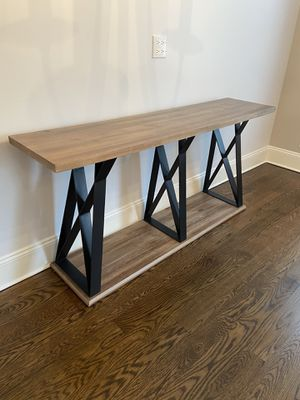 Entertainment / Console Table for Sale in Chicago, IL