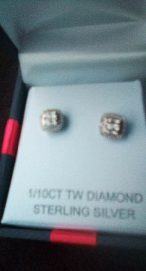 Diamond stud earrings for Sale in Spokane Valley, WA
