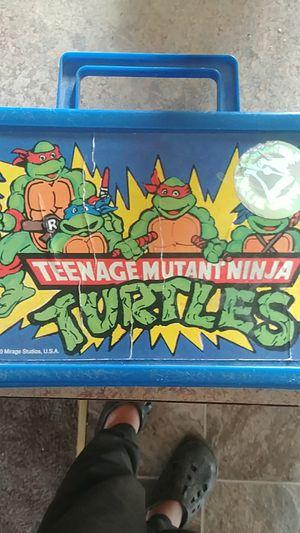 1990 ninja turtle lumchbox for Sale in Klamath Falls, OR
