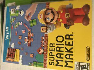 Super Mario Maker + Idea book for Sale in Glenn Dale, MD