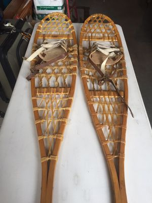 Antique Vermont Stubbs Snowshoes for Sale in Minocqua, WI