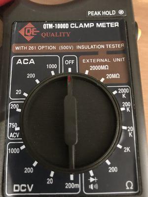 Clamp meter for Sale in Hialeah, FL